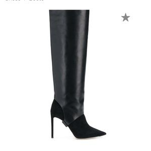 Jimmy Choo convertible suede boots